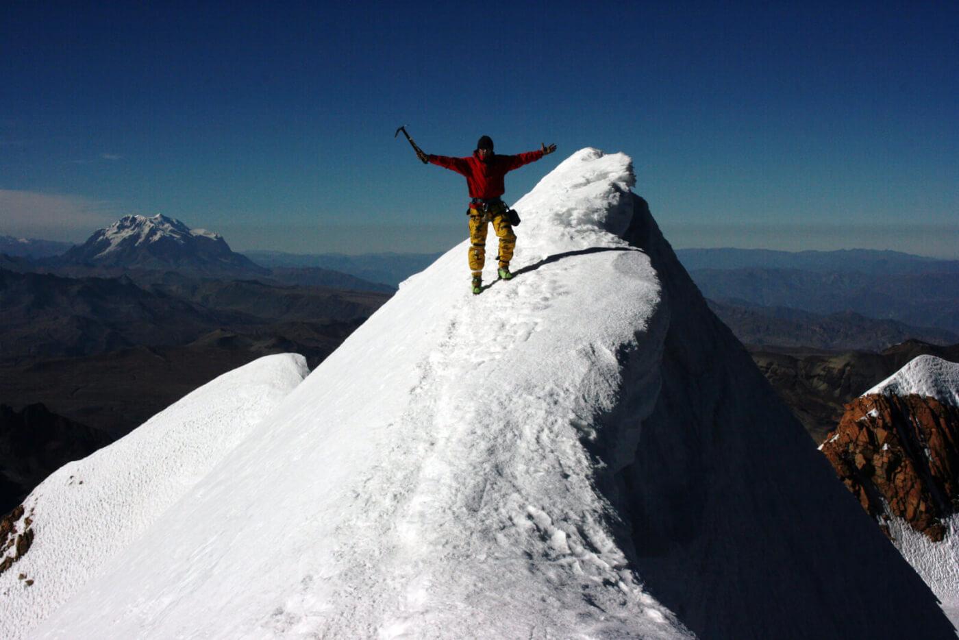 Huayna Potosi Bolivien